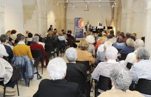 La Sala de Cultura Sant Antoni de Maó acogió la presentación de la nueva edición del festival de verano de Joventuts Musicals de Maó. FOTO.- Tolo Mercadal